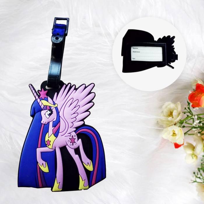 Home Health & Beauty Lugage Tag Little Pony Violet PON008
