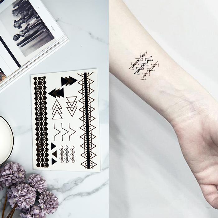 Home Health & Beauty Tatto Temporarry Black TAT028