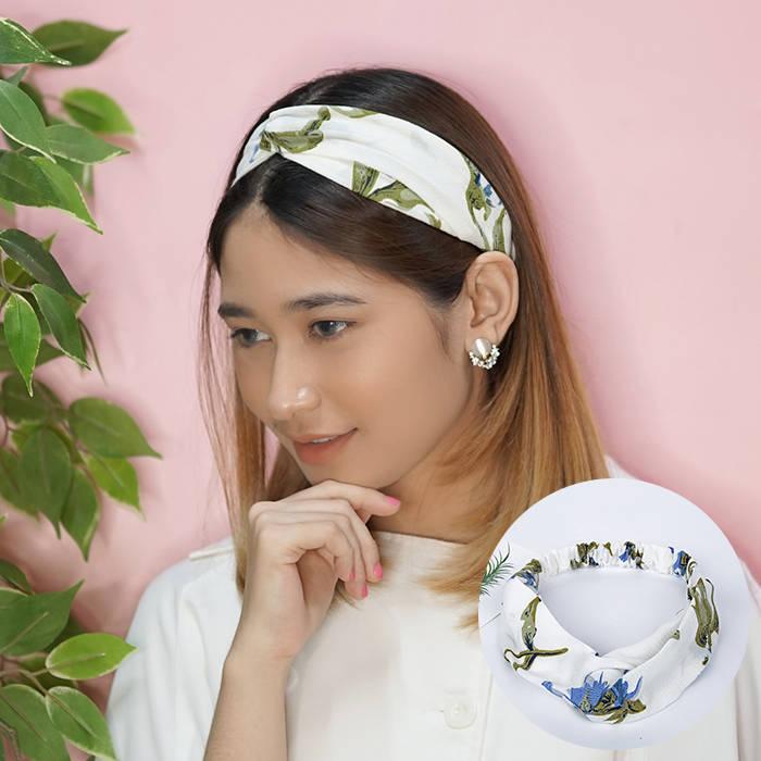 Bando & Ikat Rambut Korean headdress Korean version elastic hair band lead  AG5231