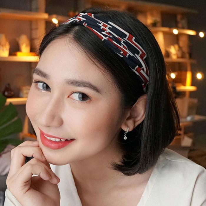 Bando & Ikat Rambut New  headband elastic fabric hair band ladies AG5602