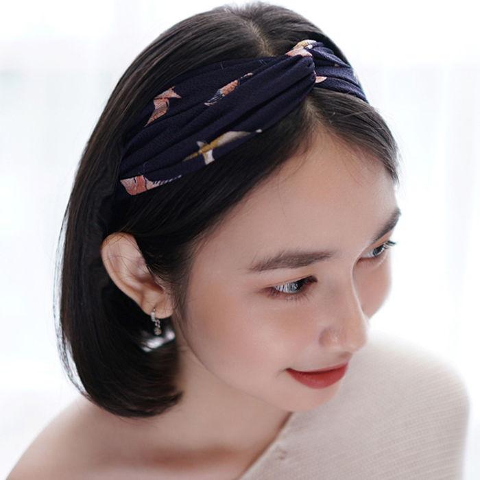 Bando & Ikat Rambut New hair band elastic fabric ladies headband AG5603