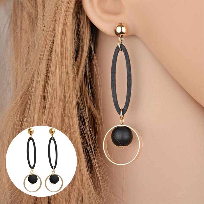 ngs geometric circle fashion earrings JUL655