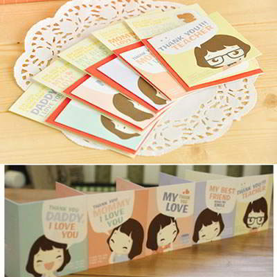 Korean Stationery Korean creativity fashion lovely girl design gilded sticker (1pcs price) (Color will be random) SDAF6E