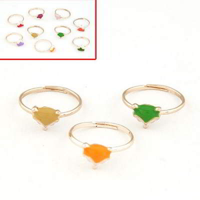 Cincin Korea Fox Decorated Design isi 3 pcs T665D7