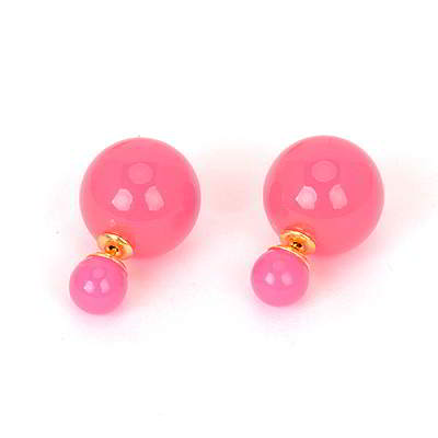 Anting Tusuk Pearl decorated multilayer design Dior Inspired R87ADE