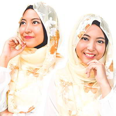 Syal & Scarf flower pattern stitching design R87BDB