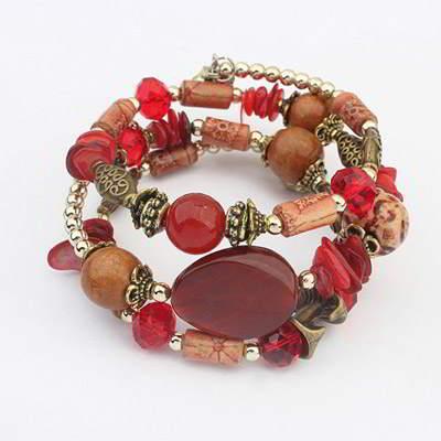 gemstone decorated multilayer design