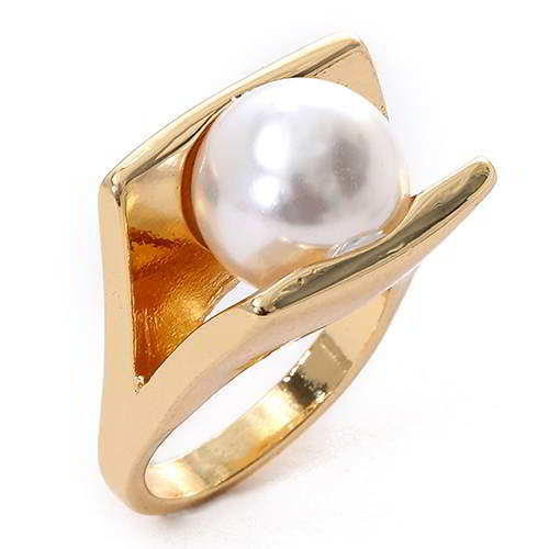 Cincin Korea ROCK CHIC pearl decorated simple design WP RA7C7E