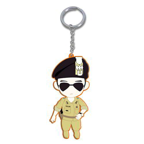 Gantungan Kunci cartoon man pendant decorated DOTS Descendants of the sun RADDDB