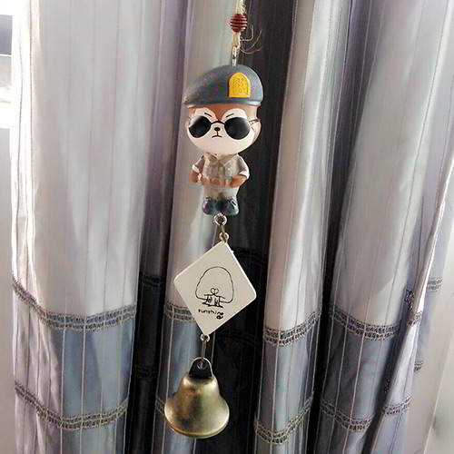 Perlengkapan Rumah wolf decorated wind chimes DOTS Descendants of the sun  RADE7F