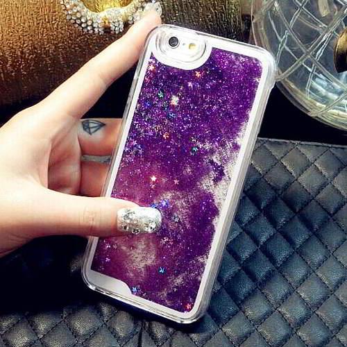 Aksesoris Handphone quicksand liquid pattern design iPhone 5 5s RB8866