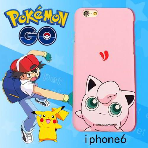 Aksesoris Handphone Pokemon monster pattern ipone6s cases RB5BF7