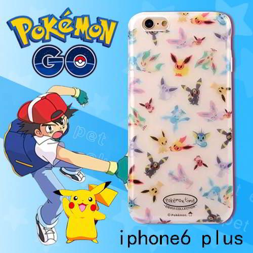 Aksesoris Handphone Pokemon monster pattern ipone6 plus cases RB5BFC