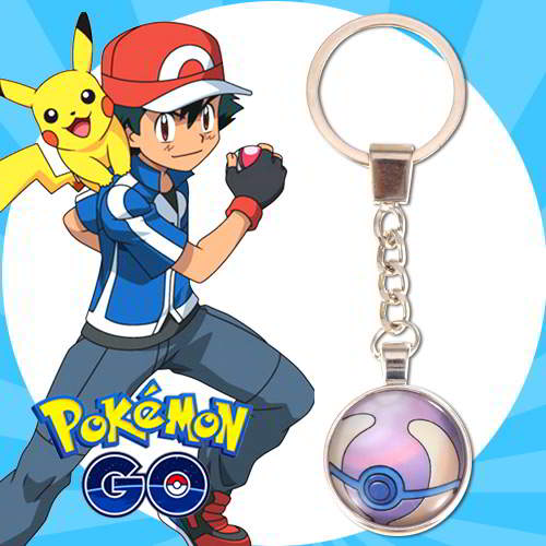 Gantungan Kunci Pokemon GO ball pendant household goods  RBABEA