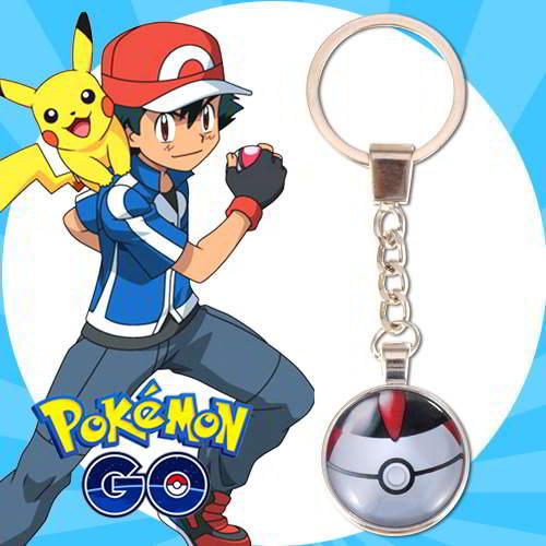 Gantungan Kunci Pokemon GO ball pendant household goods  RBABEB