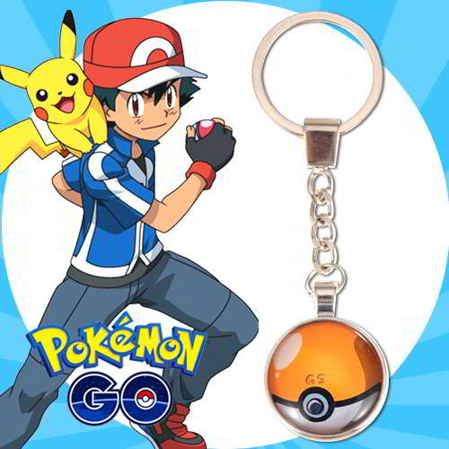 Gantungan Kunci Pokemon GO ball pendant household goods  RBABEC