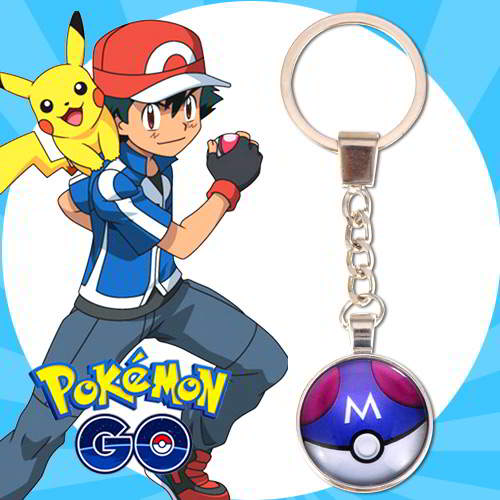 Gantungan Kunci Pokemon GO ball pendant household goods  RBABED