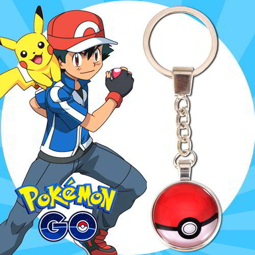Gantungan Kunci Pokemon GO ball pendant household goods  RBABEE
