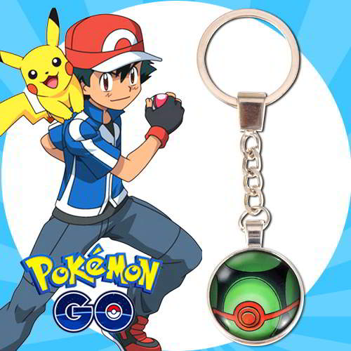 Gantungan Kunci Pokemon GO ball pendant household goods  RBACFF