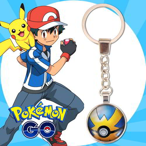 Gantungan Kunci Pokemon GO ball pendant household goods  RBACF8