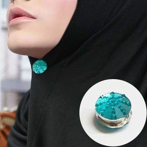 Bross strong magnetic brooch scarf Muslim accessories BR0C19