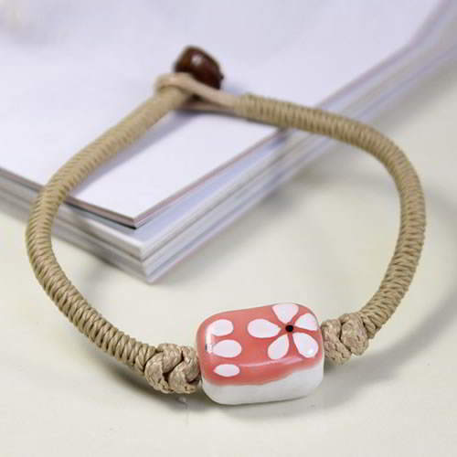 Gelang Fashion Etsy Bohemian ceramic bracelet h made BRE004