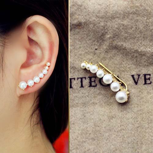curved ear earrings harga 1 pcs JUN063