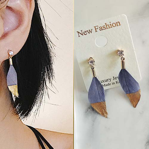 East Gate Feather Earrings JUN233
