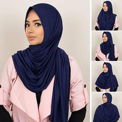 Pashmina Instant ALMEIRA 2 Face Double Loop 5 in 1 PSTN01