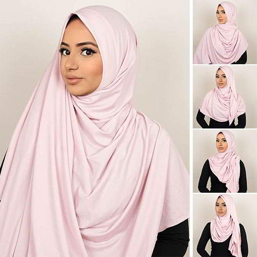 Pashmina Instant ALMEIRA 2 Face Double Loop 5 in 1 PSTN05