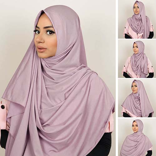 Pashmina Instant ALMEIRA 2 Face Double Loop 5 in 1 PSTN06