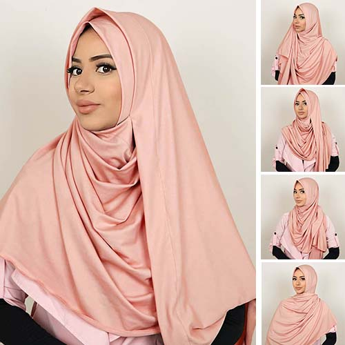 Pashmina Instant ALMEIRA 2 Face Double Loop 5 in 1 PSTN09
