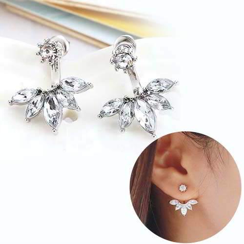 Anting Minimalist Diamond Ears REA268
