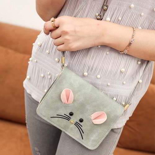 Tas Tali Pendek cartoon mouse shoulder bag REA611