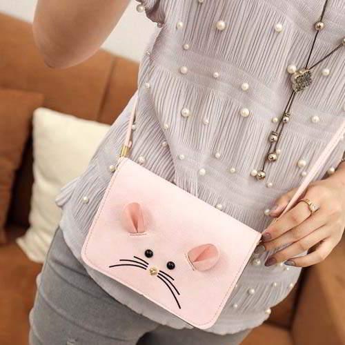 Tas Tali Pendek cartoon mouse shoulder bag REA612