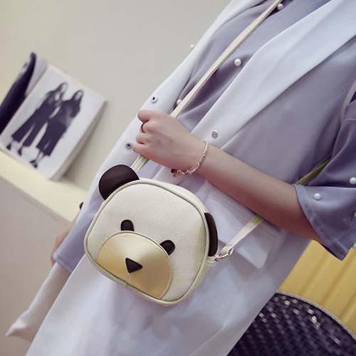 Tas Tali Panjang Shoulder Fashion Bear Cartoon Handbags REA617
