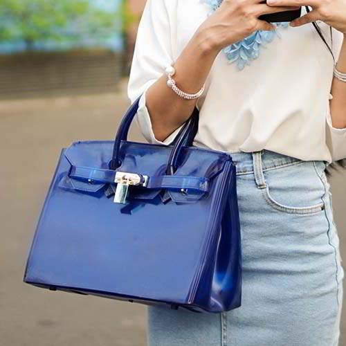 Tas Tali Pendek Emma Jelly Bag Candy Color REA644