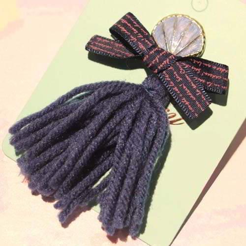 Bross Fashion JRK Kids tassel tassel brooch sweater pins S1M031