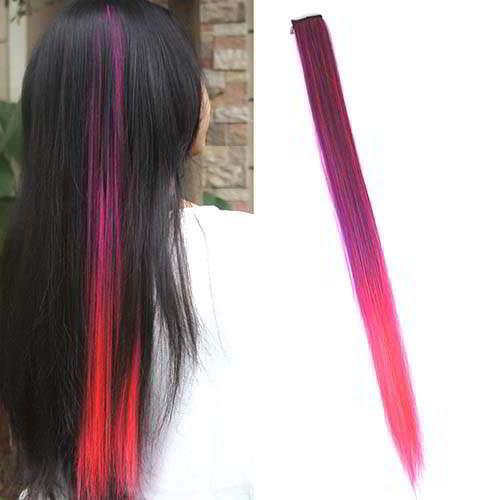 Wig Dan Hair Extension Ombre Gradient Wig Hair Clip WARNA1