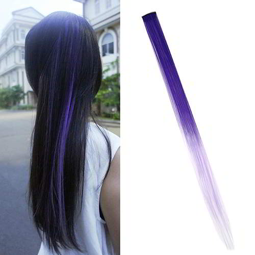 Home Health & Beauty Ombre Gradient Wig Hair Clip WARNA6