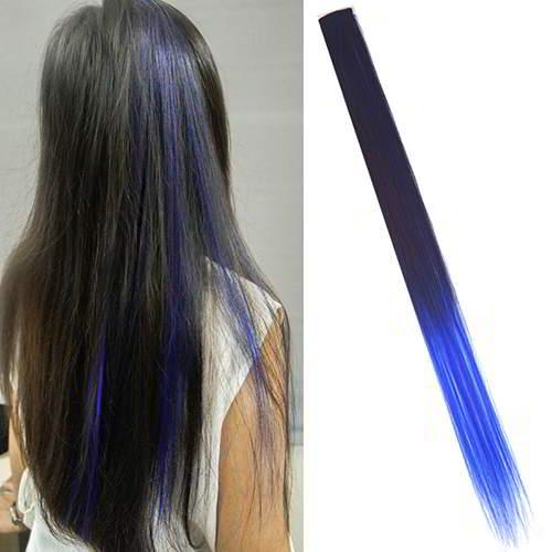 Wig Dan Hair Extension Ombre Gradient Wig Hair Clip WARNA9