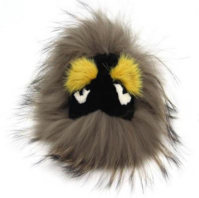 FENDI Monster Fever Real Fox Fur FENDB5