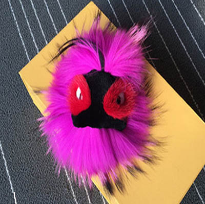 FENDI Monster Fever Real Fox Fur FENDBB