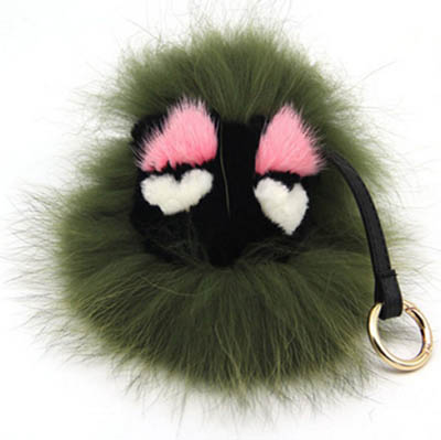 FENDI Monster Fever Real Fox Fur FENDBD
