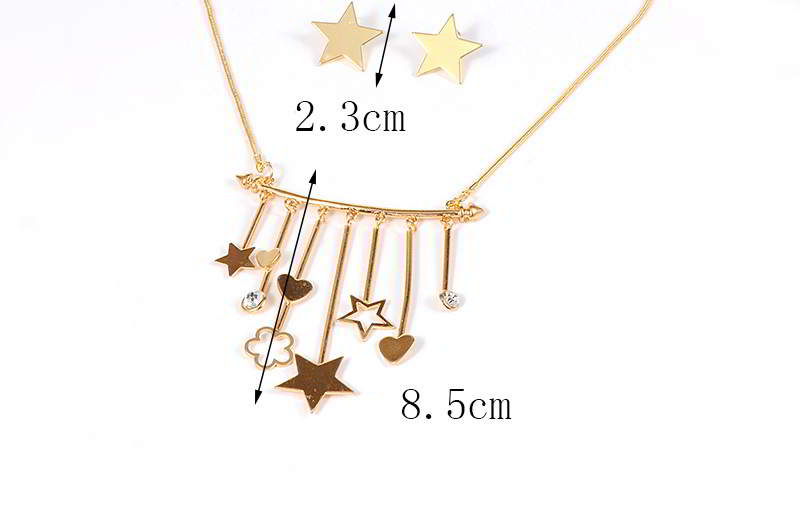 Set Kalung & Anting RE65FF