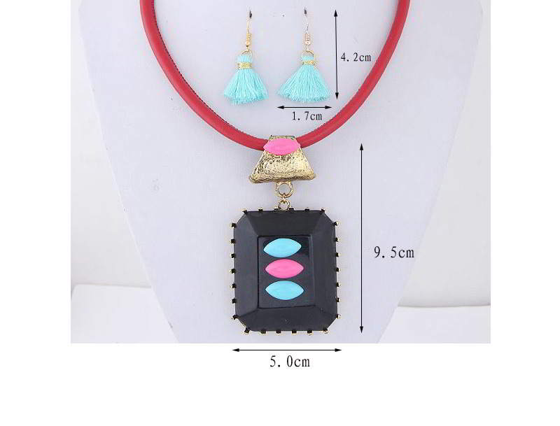 Set Kalung & Anting TAF6E6