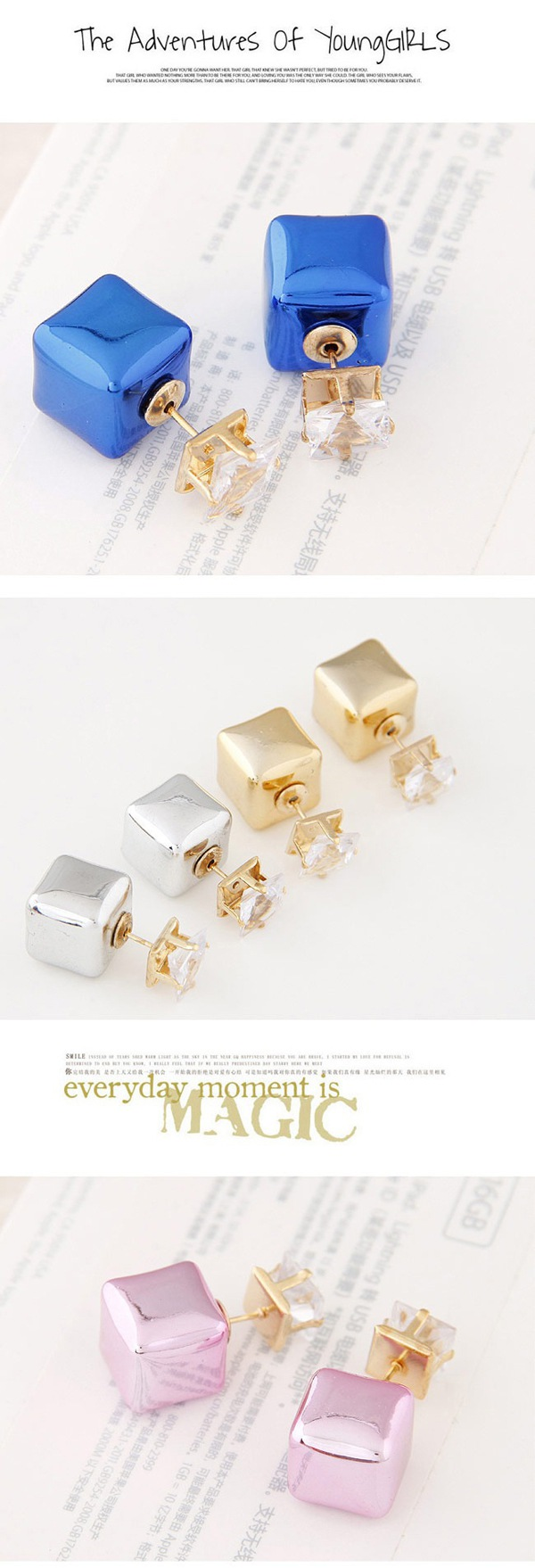 Anting Tusuk T6D7E8
