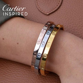 Cartier INSPIRED Bangles harga 3pcs