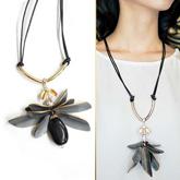 MARNI Single Flower Necklaces