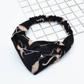 Floral Swan Headband